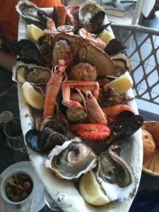 Lunch vid Medelhavet